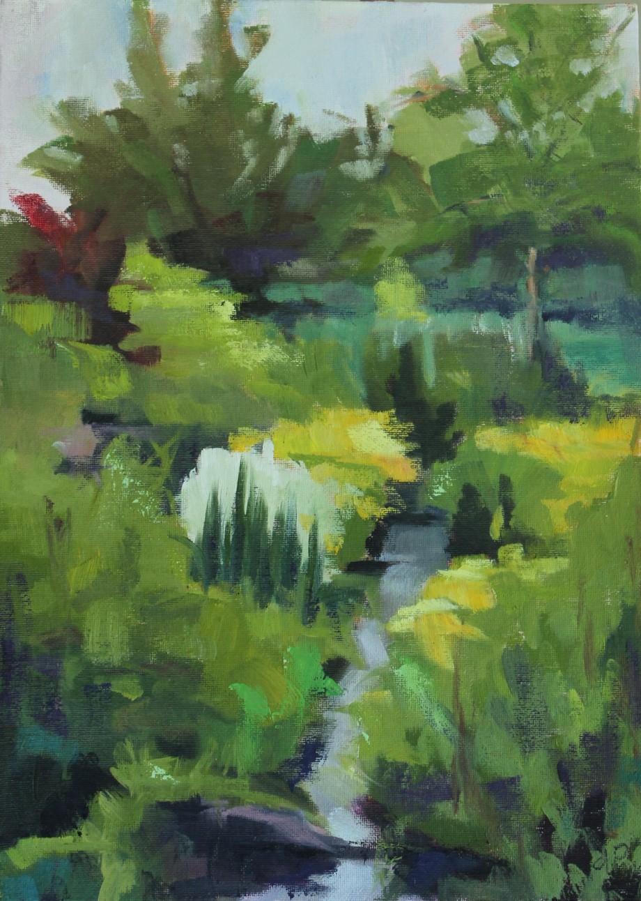 "10"" x 14""/ Oil on Canvas Board 2015 $275"